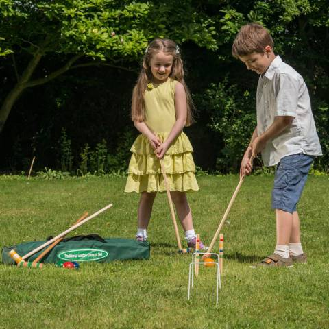 Traditional Garden Games Traditional Junior Croquet Set
