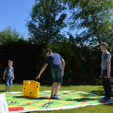Traditional Garden Games Giant Snakes & Ladders 3m x 3m