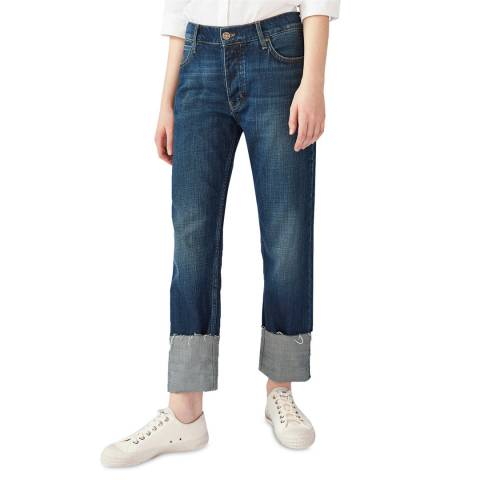 M.i.h Jeans Blue Phoebe Mid Slouch Jeans