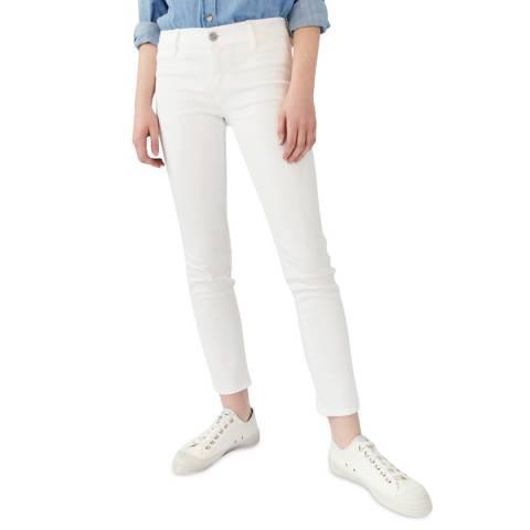 M.i.h Jeans White Paris Mid Slim Stretch Jeans