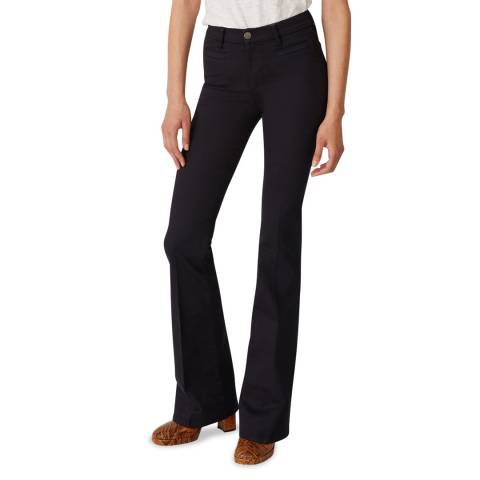 M.i.h Jeans Blue Marrakesh High Flare Stretch Jeans