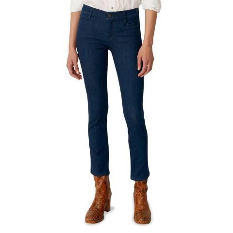 M.i.h Jeans Blue Paris Mid Slim Stretch Jeans