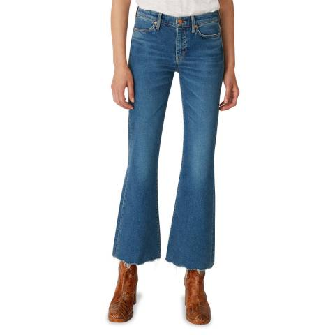 M.i.h Jeans Blue Lou Mid Flare Stretch Jeans