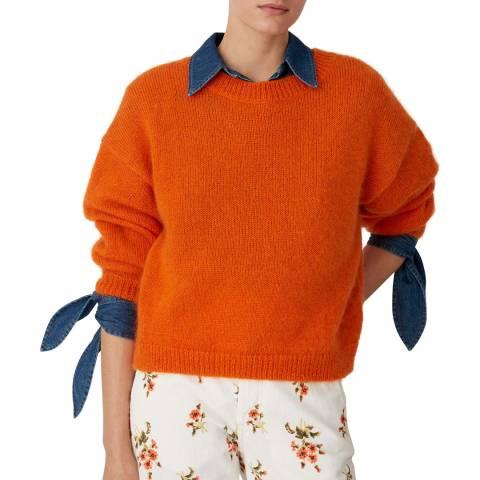 M.i.h Jeans Orange Jackson Mohair Blend Jumper