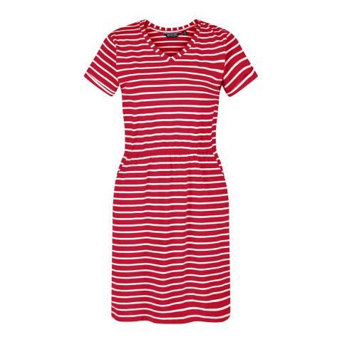 Regatta True Red/White Havilah Dress