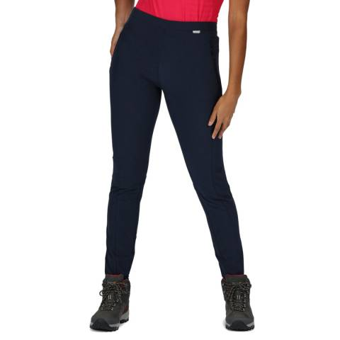 Regatta Navy Pentre Stretch Trousers