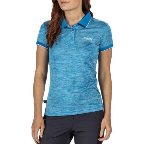 Regatta Blue Aster Polo Shirt