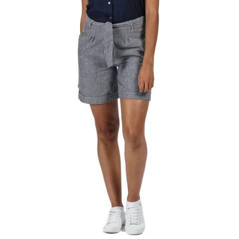 Regatta Navy Stripe Samora Shorts