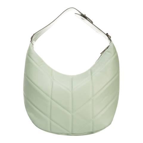 Lisa Minardi Mint Leather Top Handle Bag
