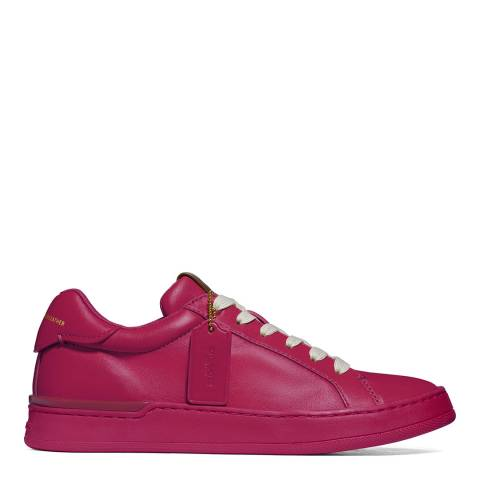 Coach Red Lowline Luxe Low Top Trainer
