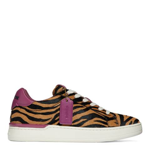 Coach Black Lowline Luxe Low Top Trainer