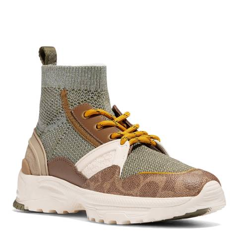 Coach Olive C245 High Top Trainer