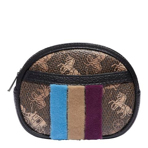 Coach Brown Harness Belt Pouch