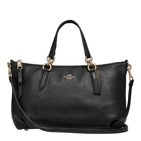 Coach Black Ally Satchel