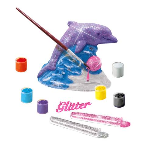 SES Creative Casting And Painting - Glitter Dolphin