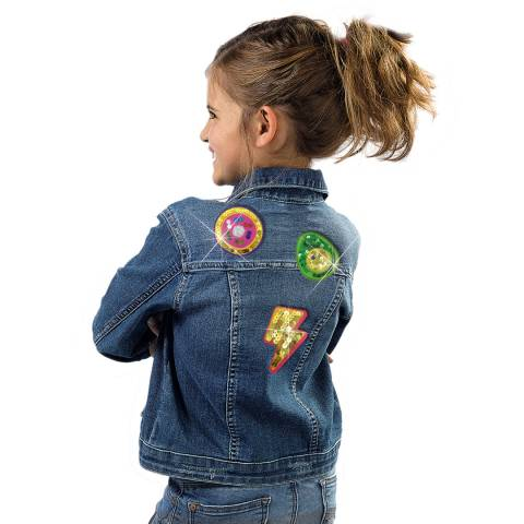 SES Creative Fashion Glitter Patches