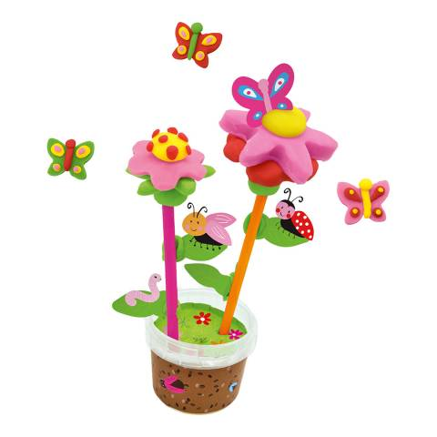SES Creative Dough - Scented Flowers And Butterflies