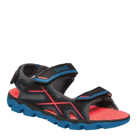 Regatta Petrol Blue/Fiery Coral Kota Drift Sandals