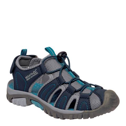 Regatta Boy's Navy & Ocean Deep Westshore Sandals