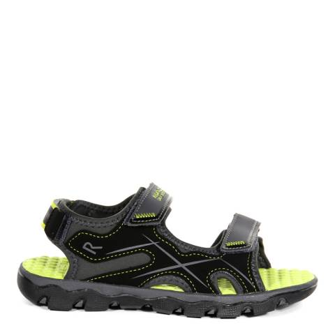Regatta Boy's Briar & Lime Punch Kota Drift Sandals