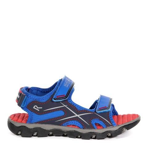 Regatta Boy's Oxford Blue & Pepper Kota Drift Sandals