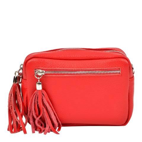 Isabella Rhea Blush Leather Bag SS21 IR 1447 ROSSO