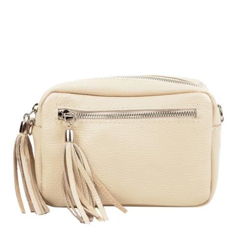 Isabella Rhea Beige Leather Bag SS21 IR 1447 BEIGE