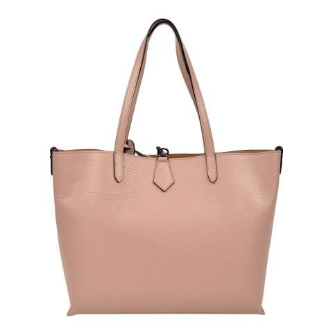 Isabella Rhea Pink Leather Shoulder Bag