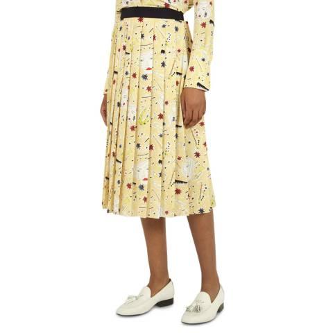 VICTORIA, VICTORIA BECKHAM Jazzy Dream Multi Pleated Skirt