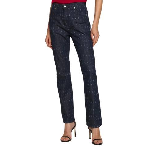 VICTORIA, VICTORIA BECKHAM Printed Cotton Jeans