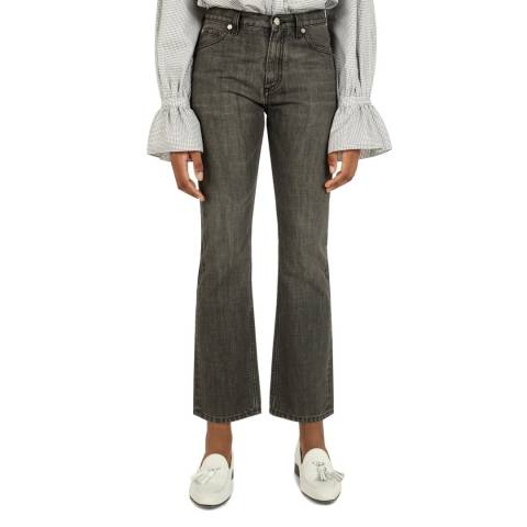 VICTORIA, VICTORIA BECKHAM Grey Upstate Cotton Jeans
