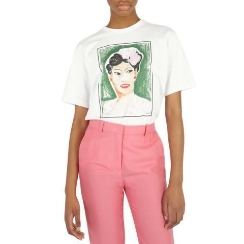 VICTORIA, VICTORIA BECKHAM White Billie T-Shirt