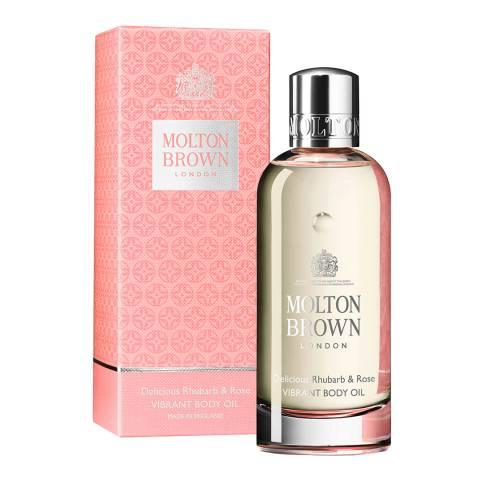 Molton Brown 100ml Oil Body Rhubarb+Rose