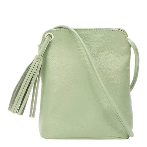 Massimo Castelli Mint Leather Crossbody Bag