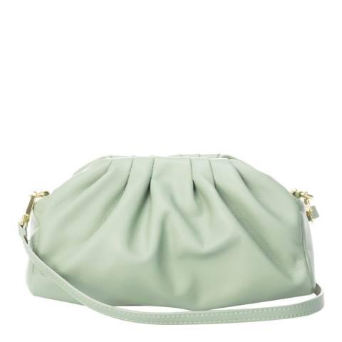 Markese Mint Leather Crossbody Bag