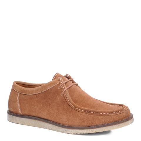 Silver Street Tan Suede Sydney Casual Shoes