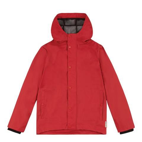 Hunter Military Red Original Rubberised Jacket