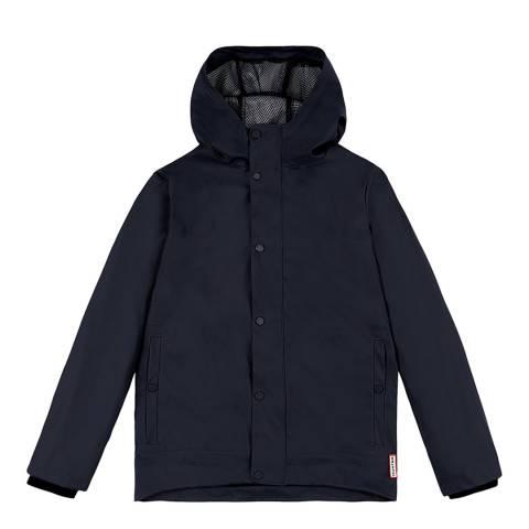 Hunter Navy Original Rubberised Jacket