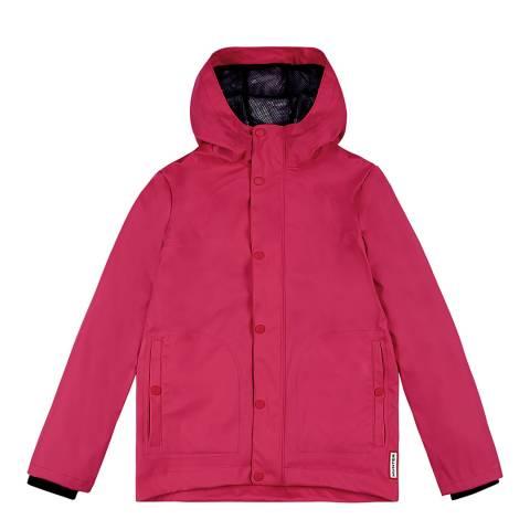 Hunter Bright Pink Original Rubberised Jacket