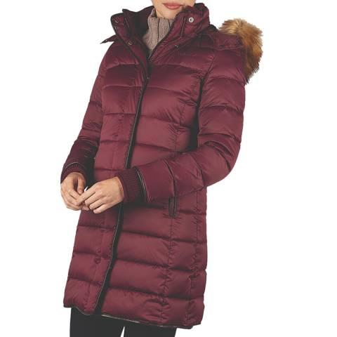 Schöffel Women's Purple Mayfair Down Coat
