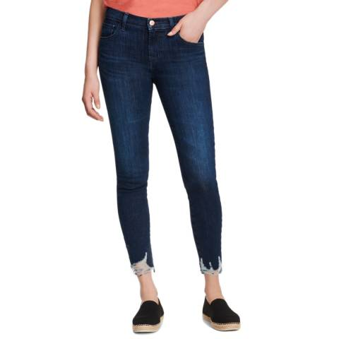J Brand Dark Denim 835 Mid Rise Skinny Stretch Jeans
