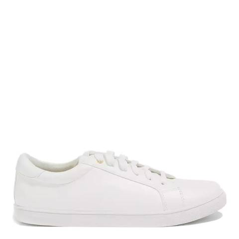 Oasis White Lace Up Trainer