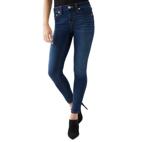 True Religion Mid Blue Jennie Skinny Stretch Jeans