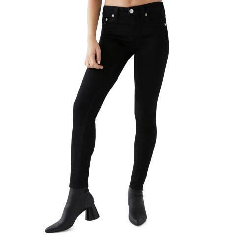 True Religion Black Jennie Skinny Stretch Jeans