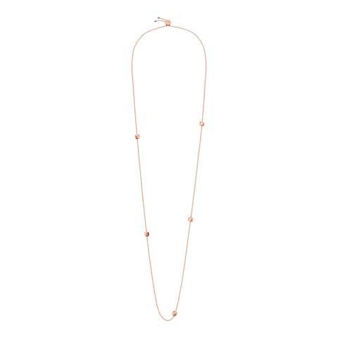 Calvin Klein Rose Gold Side Long Necklace
