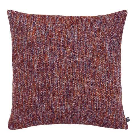 Riva Home Ember Cushion 50x50cm, Lava