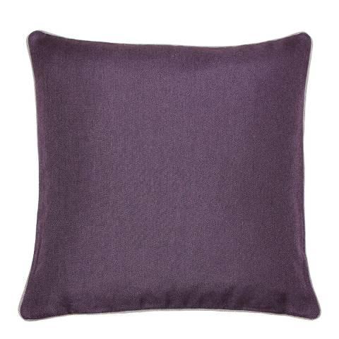 Paoletti Bellucci Cushion 45x45cm, Damson/Tobacco