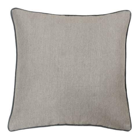 Paoletti Bellucci Cushion 55x55cm, Tobacco/Grey