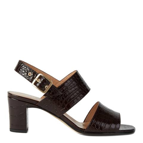 Hobbs London Brown Katrina Suede Sandals