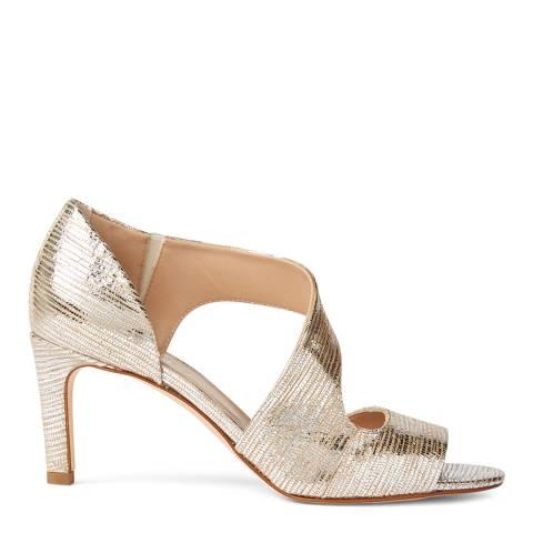 Hobbs London Metallic Leather Lexi Sandals